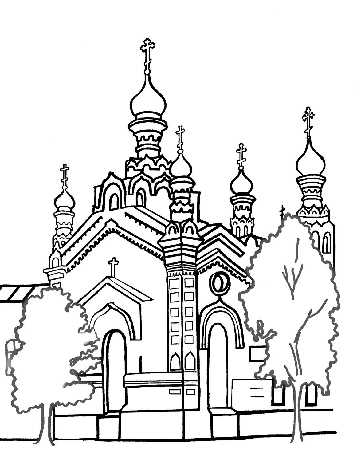 Александр невский раскраска для детей